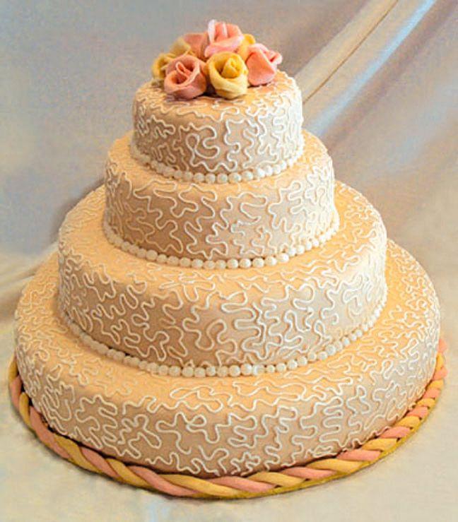 Marzipan Wedding Cake | Unique Wedding Cakes | Pinterest | Marzipan ...
