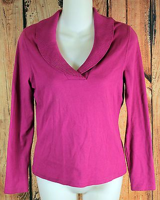 Rafaella Fuschia Pink Sweater Womens Petite Size Small P/S | Shop ...