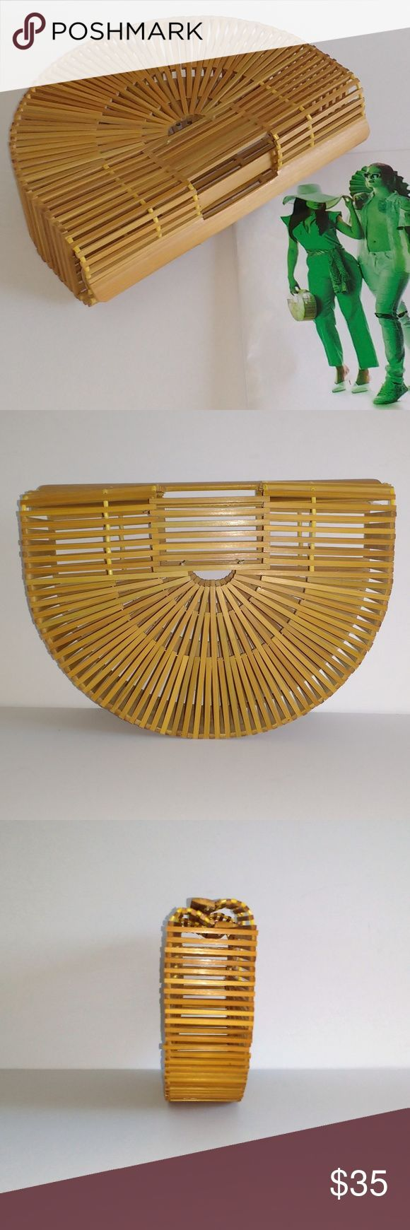 semicircle bamboo clutch I39ve got to tell you my mom gave me one of these  semicircle bamboo clutch Ive got to tell you my mom gave me one of these