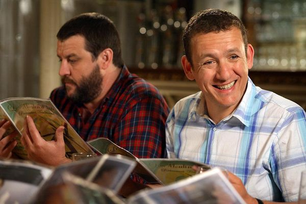 Guy Lecluyse con Dany Boon