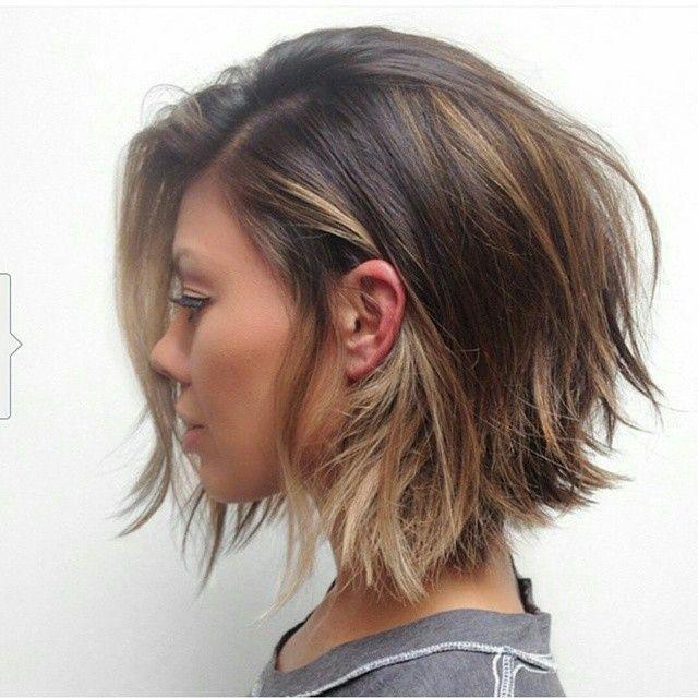 10 Bob Frisuren Gestuft Die Beliebtesten Frisuren Haare Pinterest