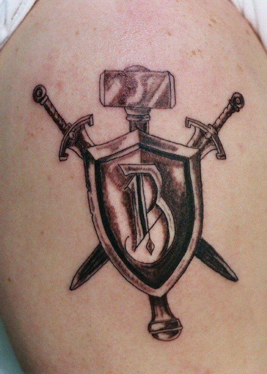 bb3eb8191 6 Shield Tattoo, Tattoo Designs, Drawings, Popular, Sister Tattoos, Tags,
