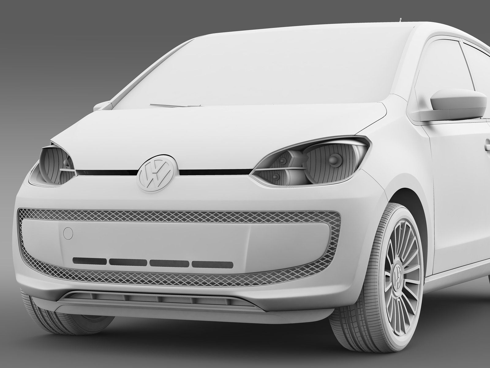 Vw High Up 5 Door 2014 Vw Up Branding Design Inspiration