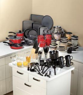 full kitchen set wall shelving 165pc complete starter fingerhut my