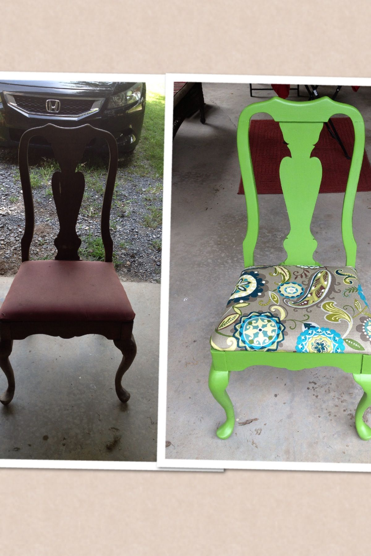 Redone An Antique Chair From My Great Grandmother