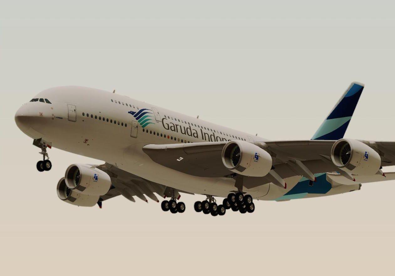 Garuda Indonesia Airbus A380 Cgi Airbus A380 Airbus Aviation