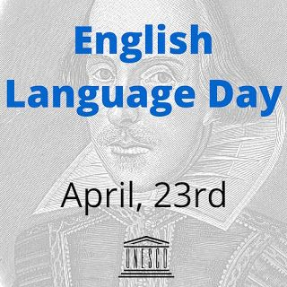 TrackTest English Test Blog: English Language Day April 23rd: We take English p...