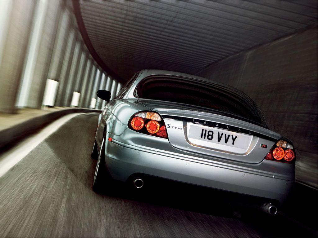 Jaguar s type r 2008 rear view