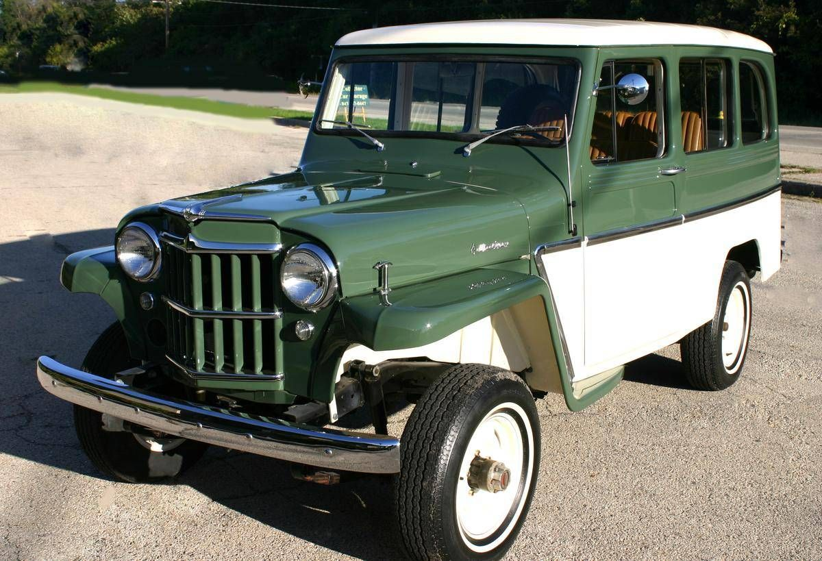 1963 Willys Utility Wagon 4 Wheel Drive Willys Jeep Willys Utility Wagon