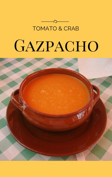 Chef Shea Gallante visited Today Show to share a simple no-cook recipe for Tomato Gazpacho with Crab, Avocado and Basil, which won't heat up the kitchen. http://www.foodus.com/today-show-tomato-gazpacho-with-crab-avocado-and-basil-recipe/