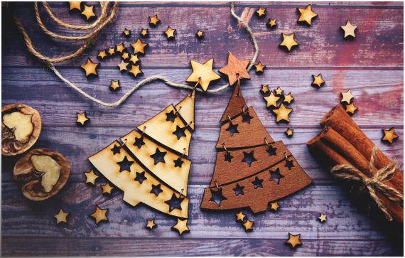 Christmas ornaments Handmade for christmas tree. by AylilAntoniu
