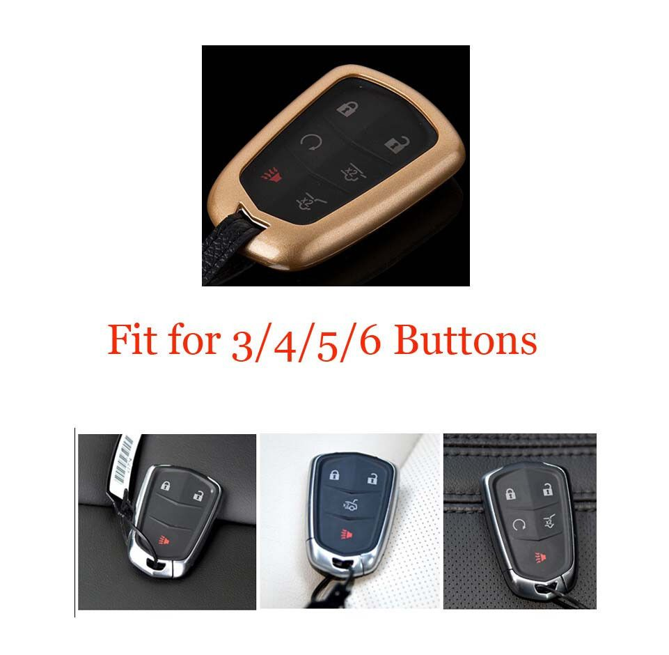in car from buttons cadillac shell keyless key keys auto new for entry srx fob replacement remote cts sts item automobiles dts