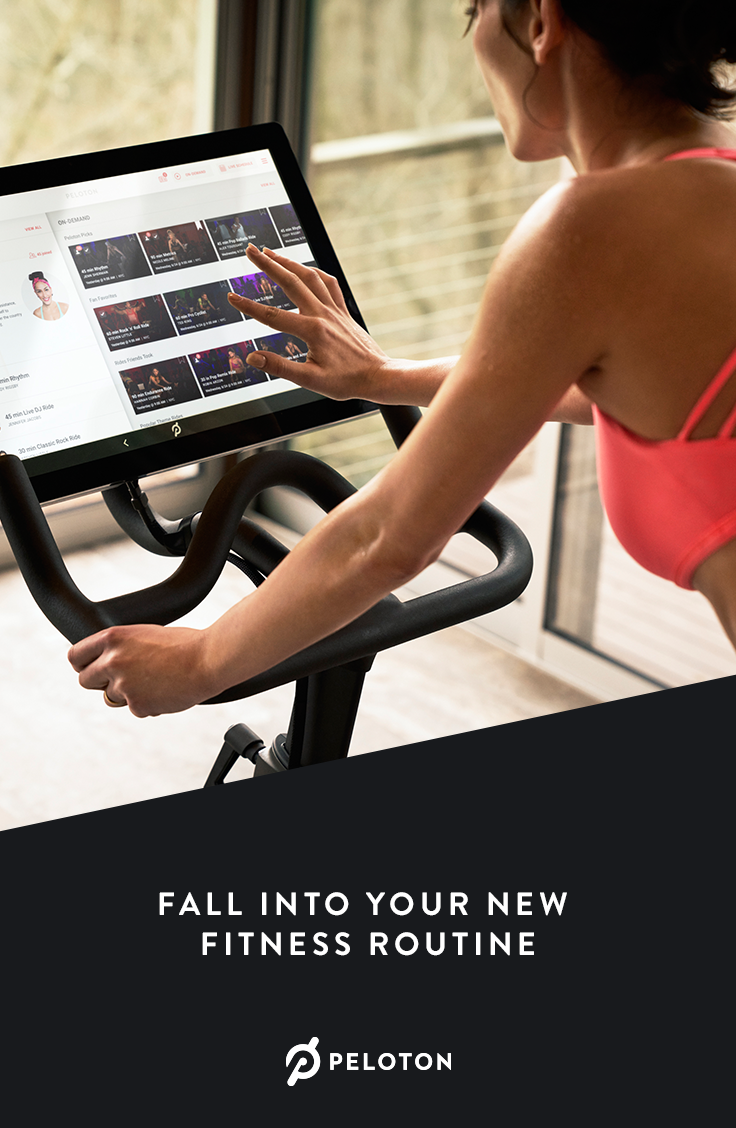 The Peloton Bike Is Your Own Private Cycling Studio Join Live And On Demand Classes Led By Elite Nyc Instructors Fr Biking Workout Workout Best Cardio Machine