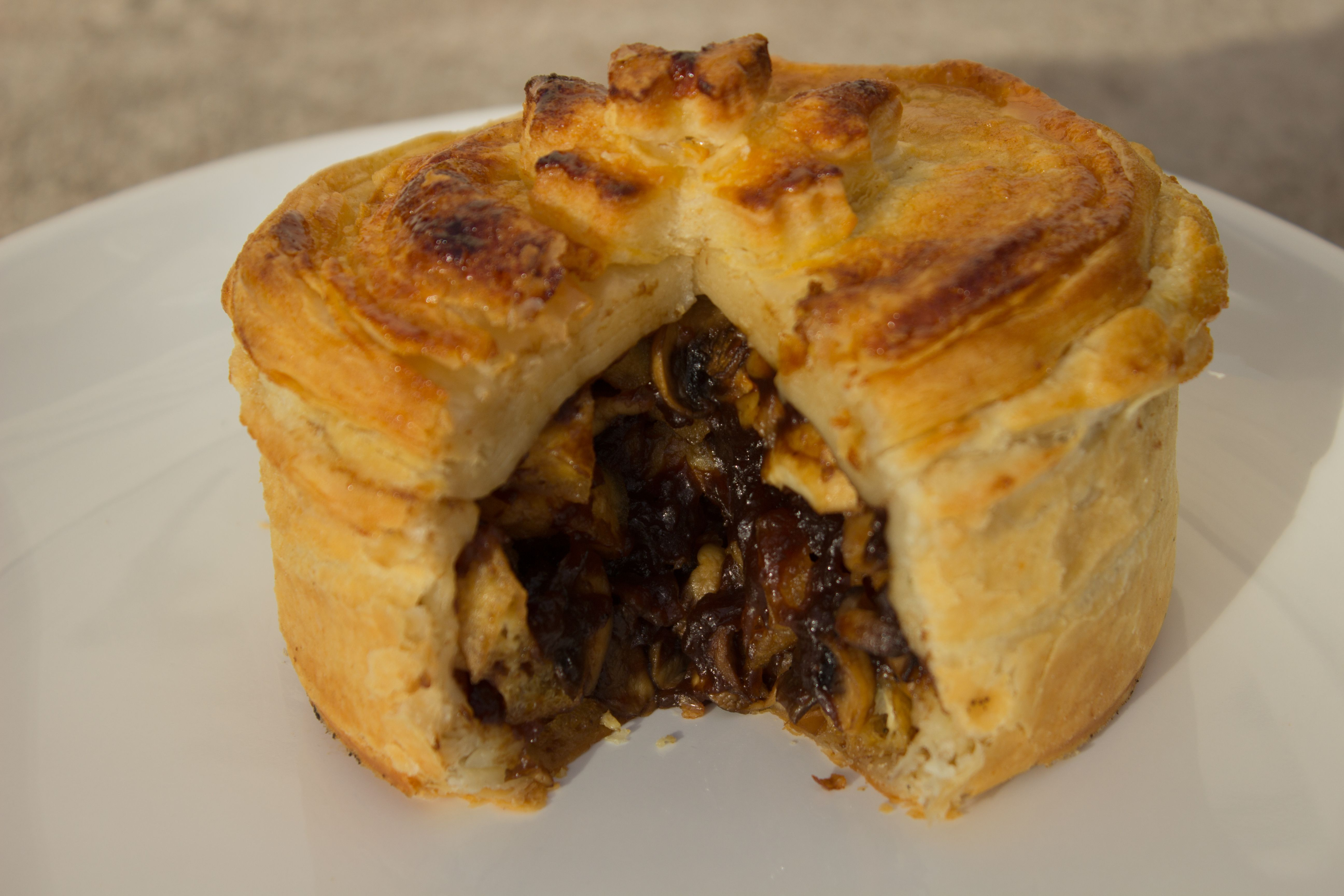 Mushroom and Ale Christmas Pie This is the kind of food we ...