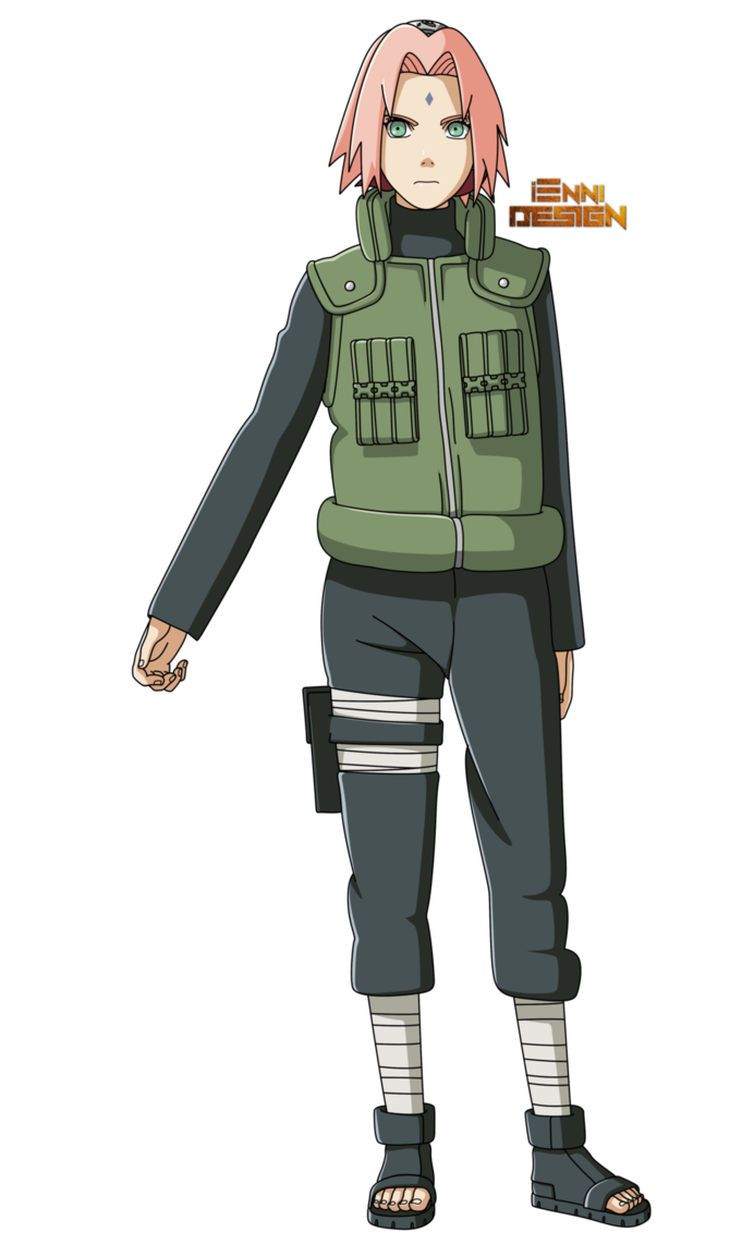 Naruto Shippuden Sakura Haruno Great Ninja War By Iennidesign