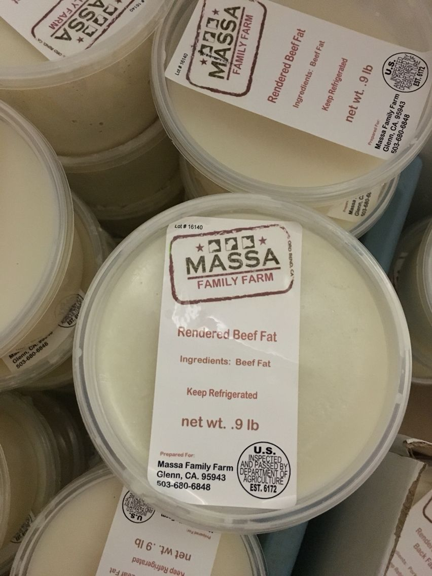 We Are Now Offering 100 Grass Fed Grass Finished Beef Tallow Http Www Massanaturalmeats Com Tallow Rendered Beef Tallow Ingredients Food