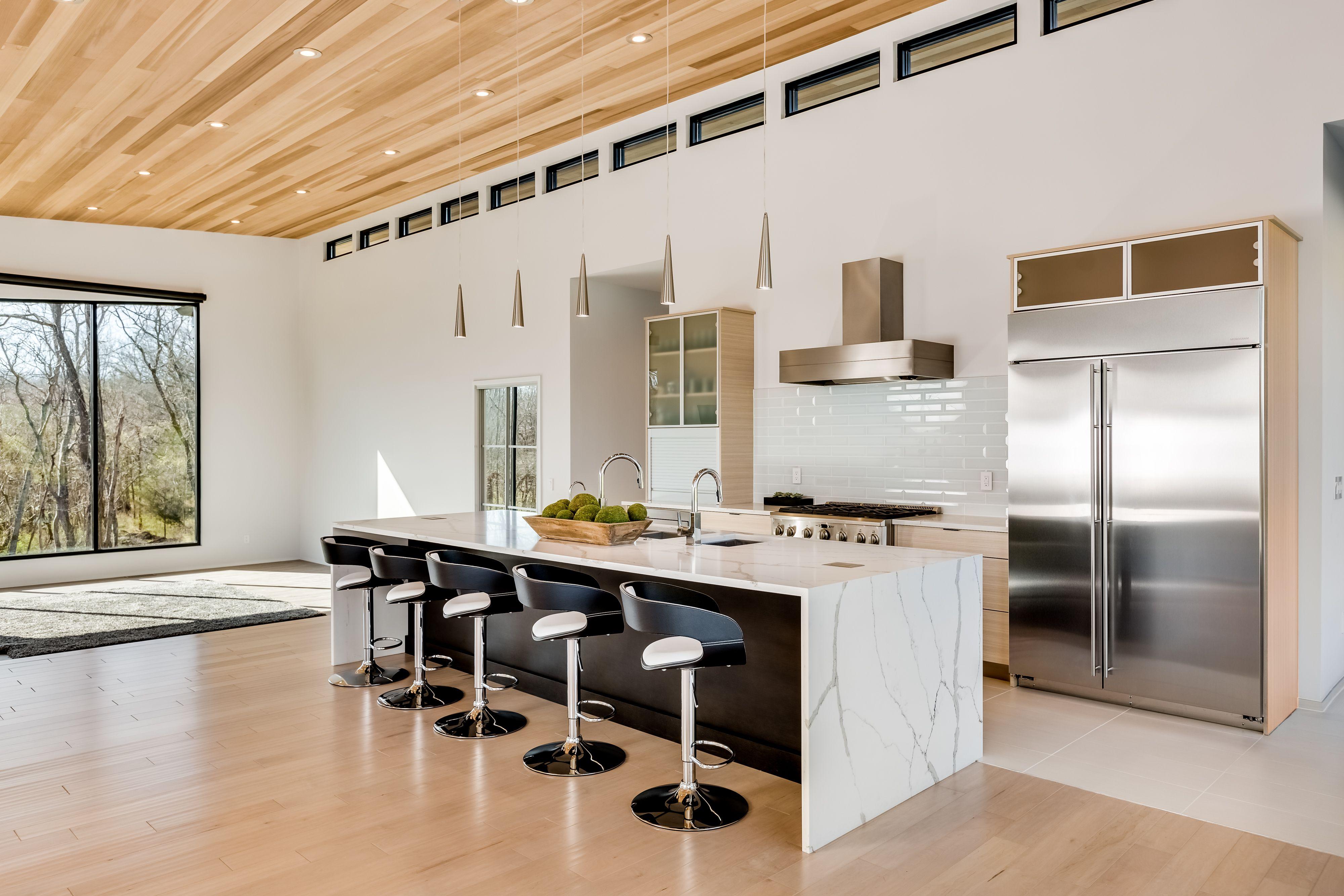 Modern kitchen photographed in Nashville TN Modern