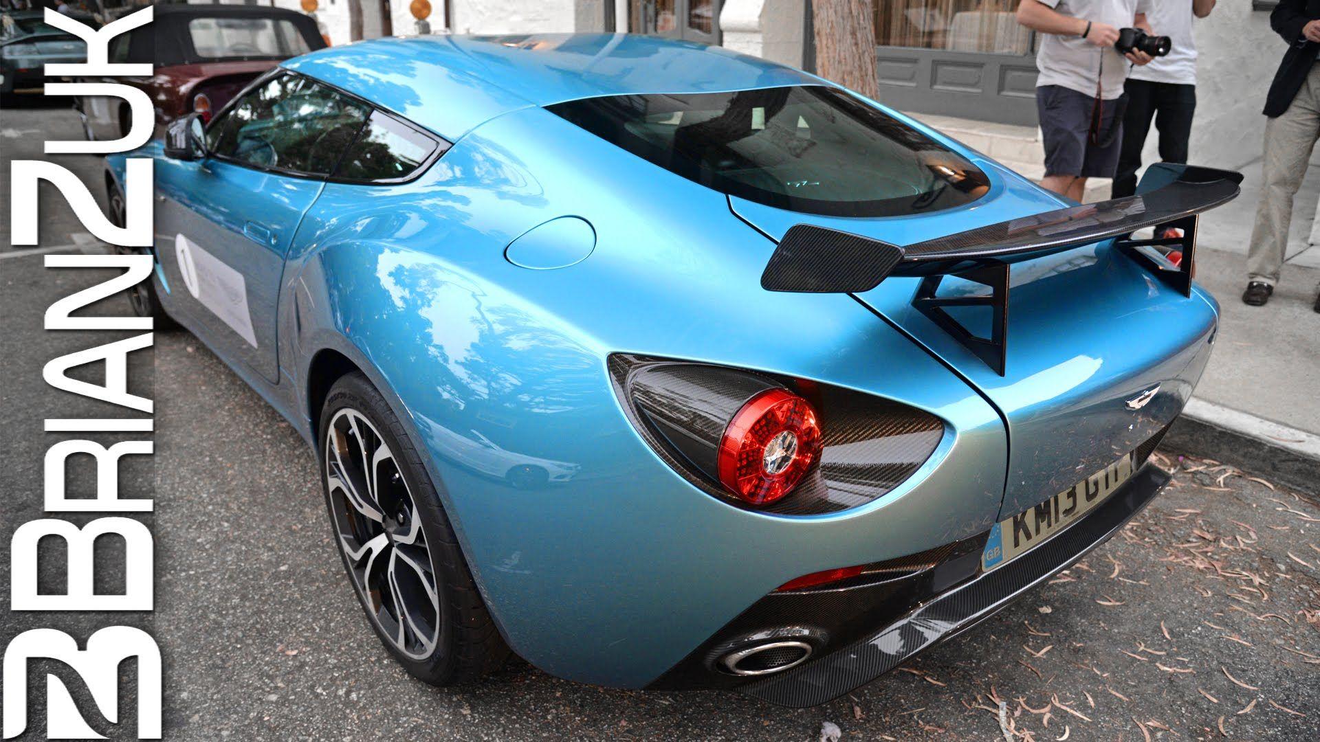 Δείτε τη σπάνια Aston Martin V12 Zagato από ποΠύ κοντά