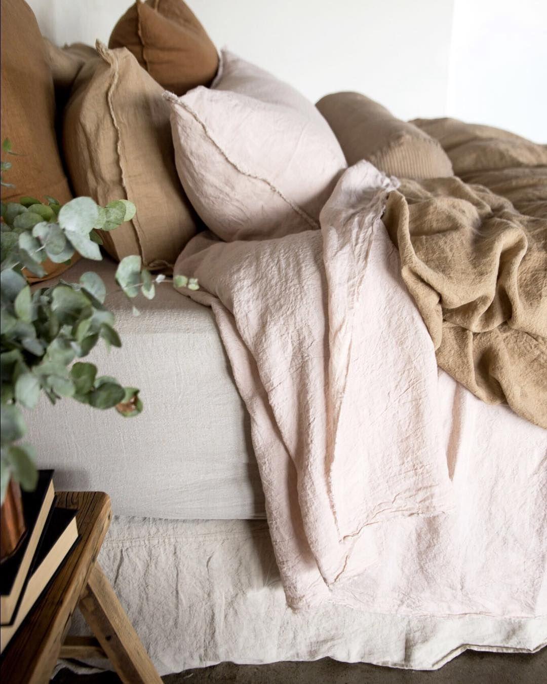 Luxurious European Linen Bedding & Linen Sheets