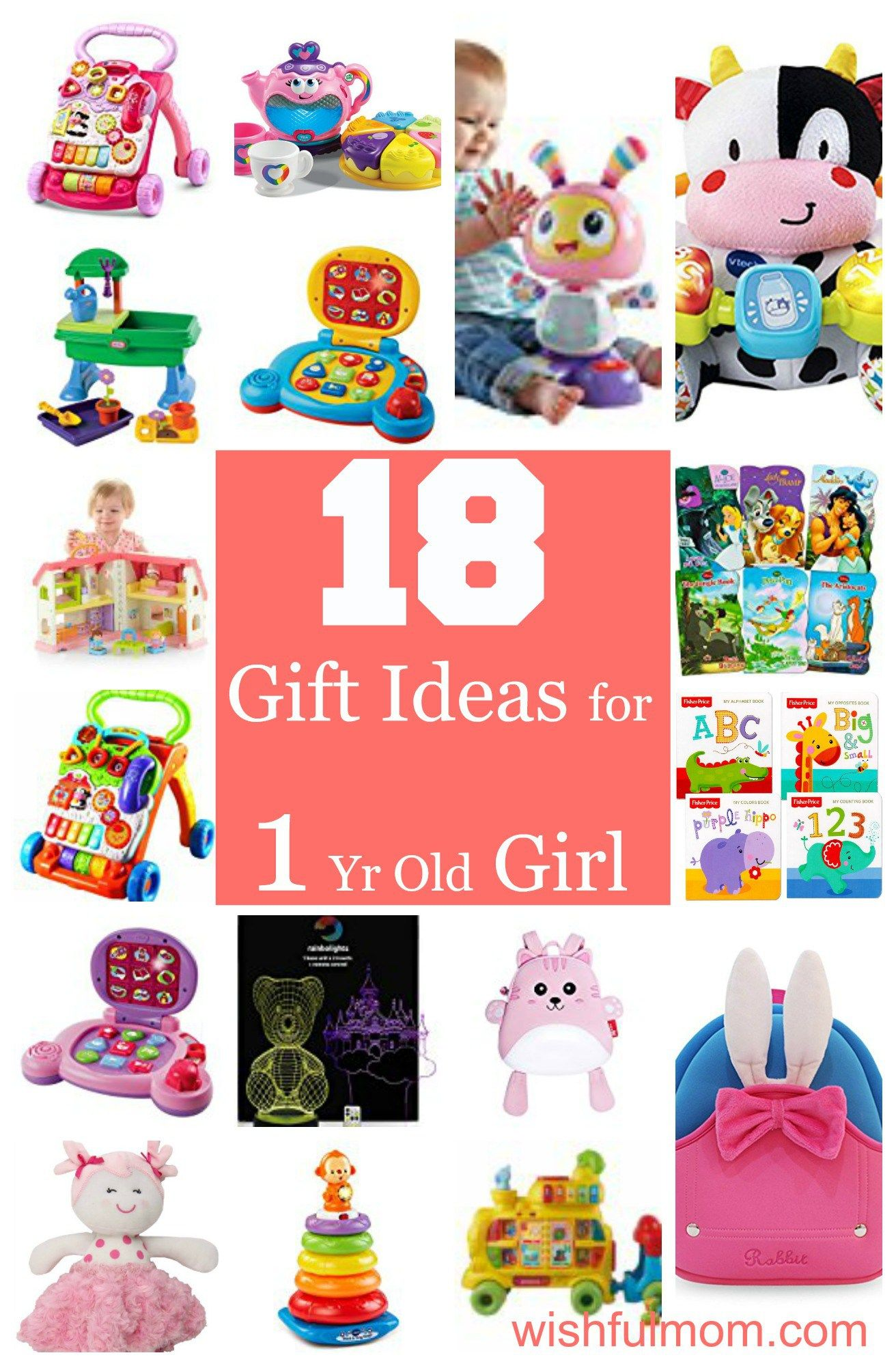 Gift Ideas For 1 Year Old Girl  Examples And Forms-5231