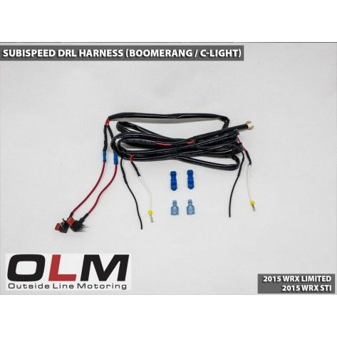 Drl Harness For Boomerang C Light 15 17 Wrx Limited 15 17