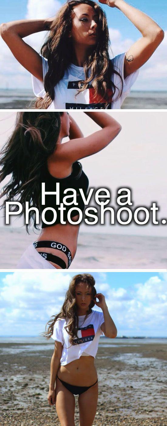 Have a Photoshoot | Summer Fun Ideas for Teens Bucket Lists