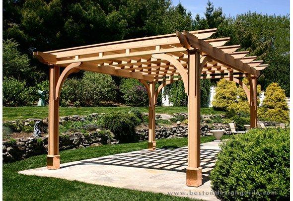 21 Garden Terms You Should Know But Probably Don T Sombra De Pergola Pergola Exterior Planos De Pergola