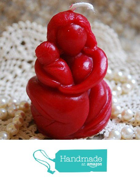 Beeswax Candle Shaped Mama Mother and Child Candle in RED from Peace Blossom Candles http://www.amazon.com/dp/B0195NLWTA/ref=hnd_sw_r_pi_dp_xlehxb1YSMG29 #handmadeatamazon