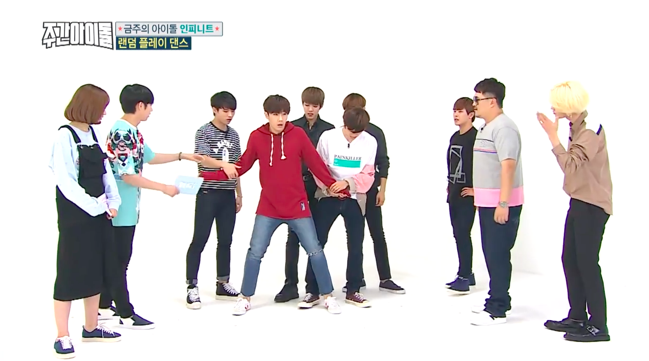 Infinite Weekly Idol 2 Weekly Idol Idol Dance