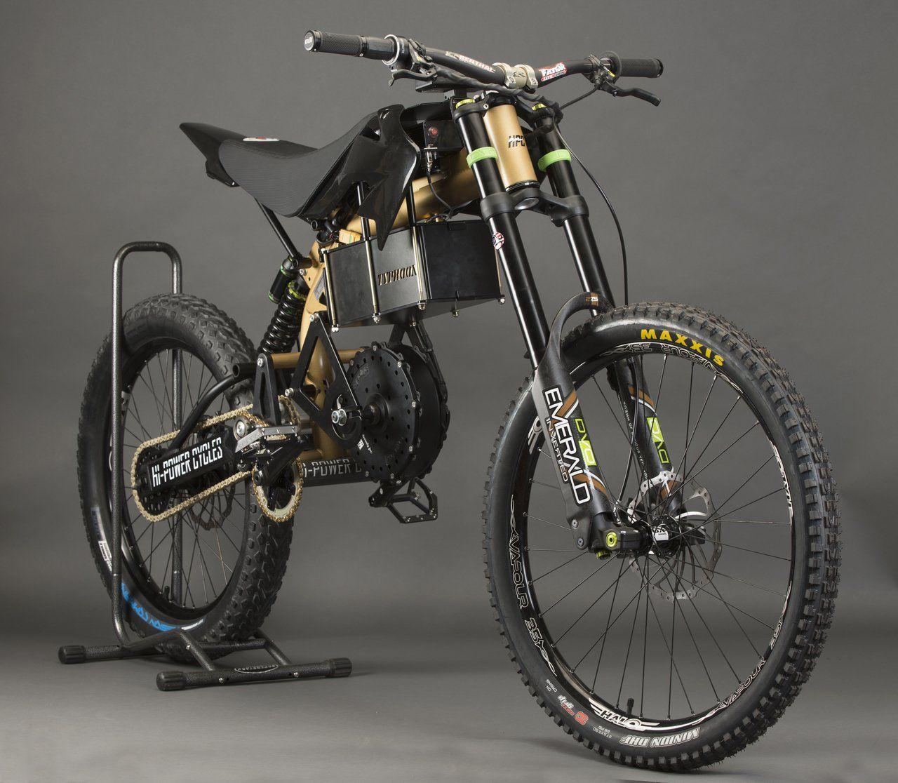 2020 Hpc Typhoon Pro Offroad High Performance Electric Dirt Bike