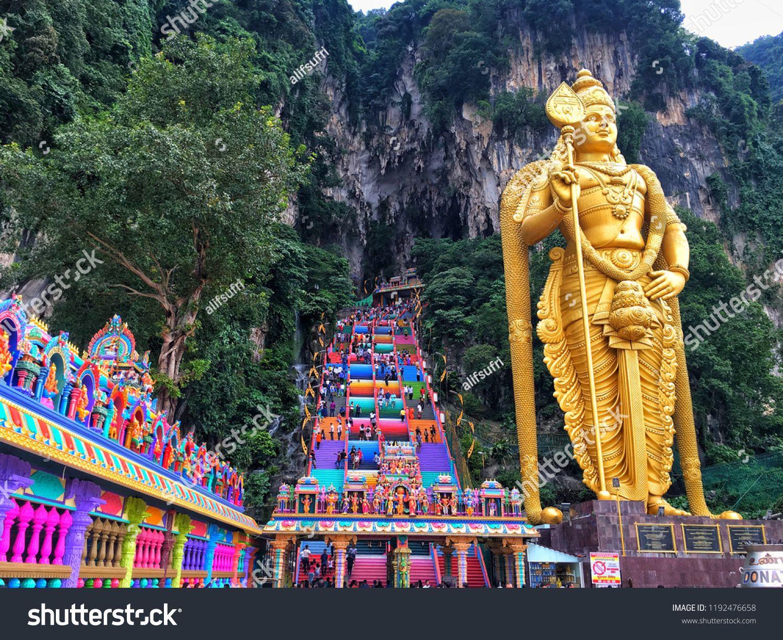 Batu Caves Kuala Lumpur 11 September 2018 New Look With