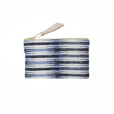 The Brittany // GAIA pouches are made from vintage + repurposed fabric by resettled refugee women living in Dallas // www.gaiaforwomen.com
