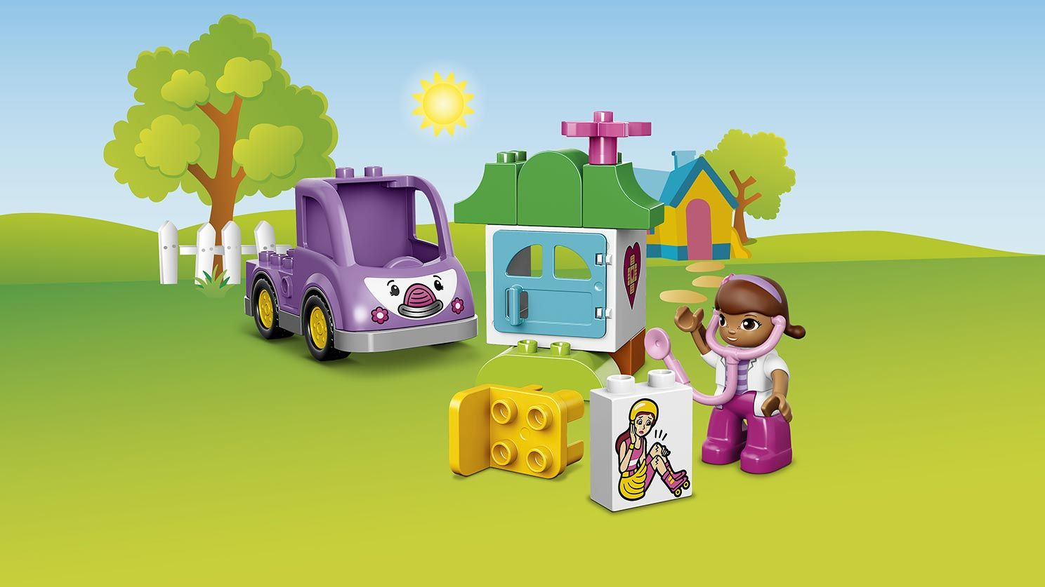 Duplo, Disney Doc McStuffins, Rosie Ambulance, May 2016