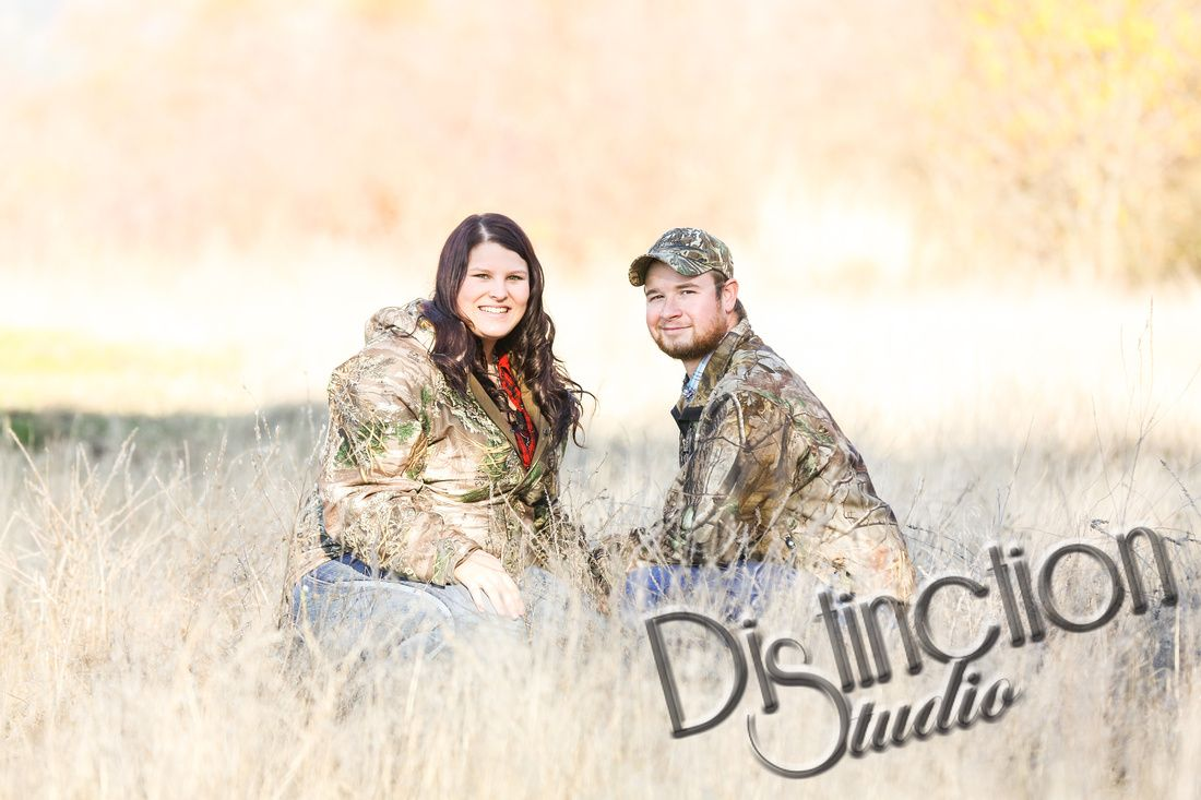Cutest Country Engagement Session by Distinction Studio based out of Spokane WA but available for travel! Includes a wonderful dog in this photo session! #distinctionstudio engagement session ideas photography photographer