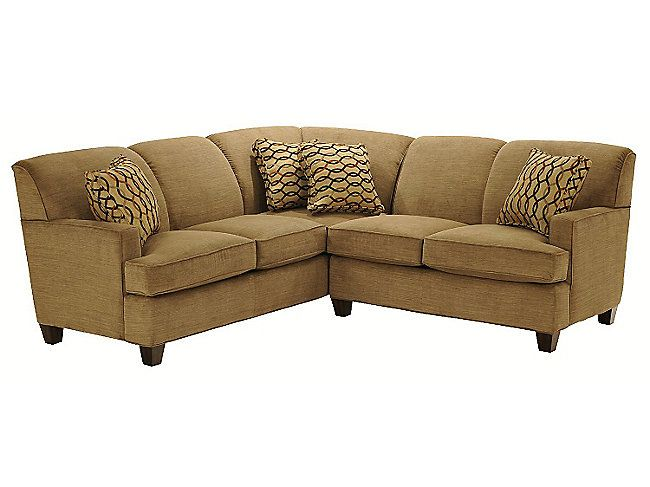 Tunney 2 Piece Sectional Hom Furniture Hom Furniture