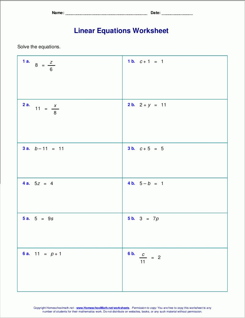 Equations And Inequalities Worksheet Algebra Worksheets Graphing Linear Equations Writing Linear Equations