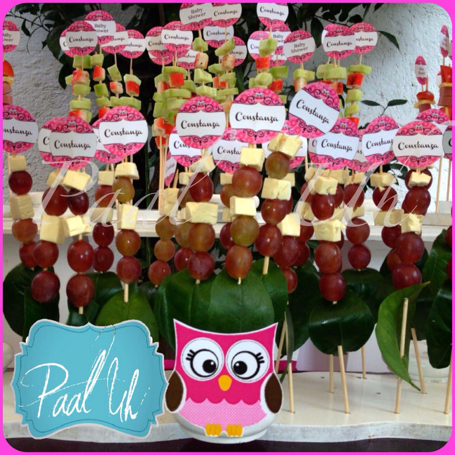 Paal Uh Mesas de Postres & Snack s Bocadillos Baby Shower Bºho