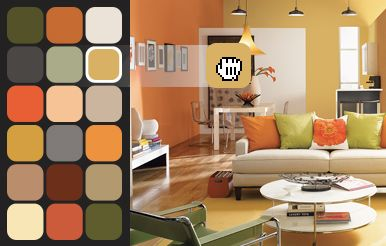 Explore endless colour possibilities with the sherwin williams colourr visualizer tool upload for Interior paint color visualizer