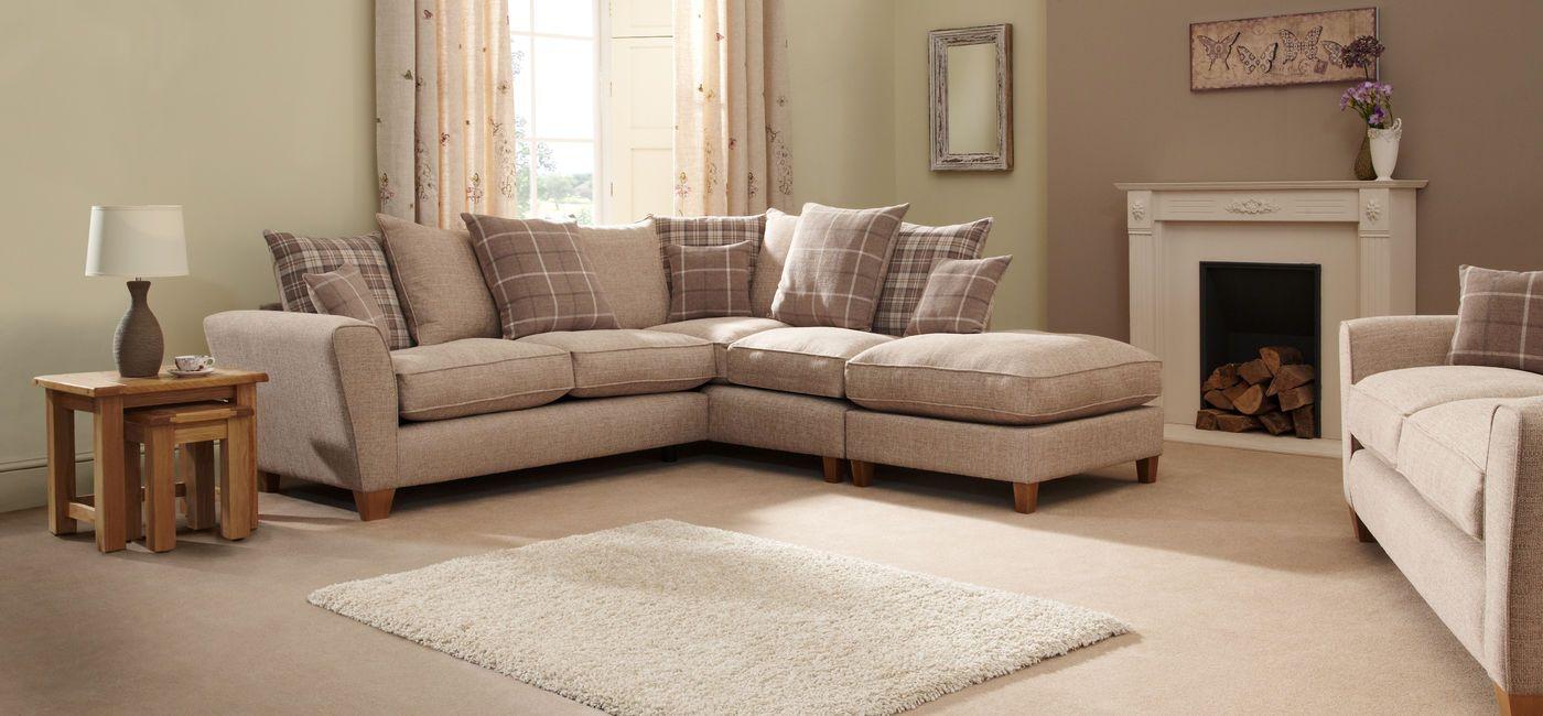 Lois Corner Chaise Group Rhf Scatter Back Corner Sofa Fabric Living Room Inspo Corner Sofa