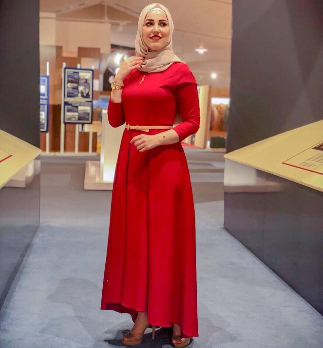 اجدد فساتين محجبات خروج تفصيل 2020 Dresses Hijabi Outfits Casual Modest Dresses