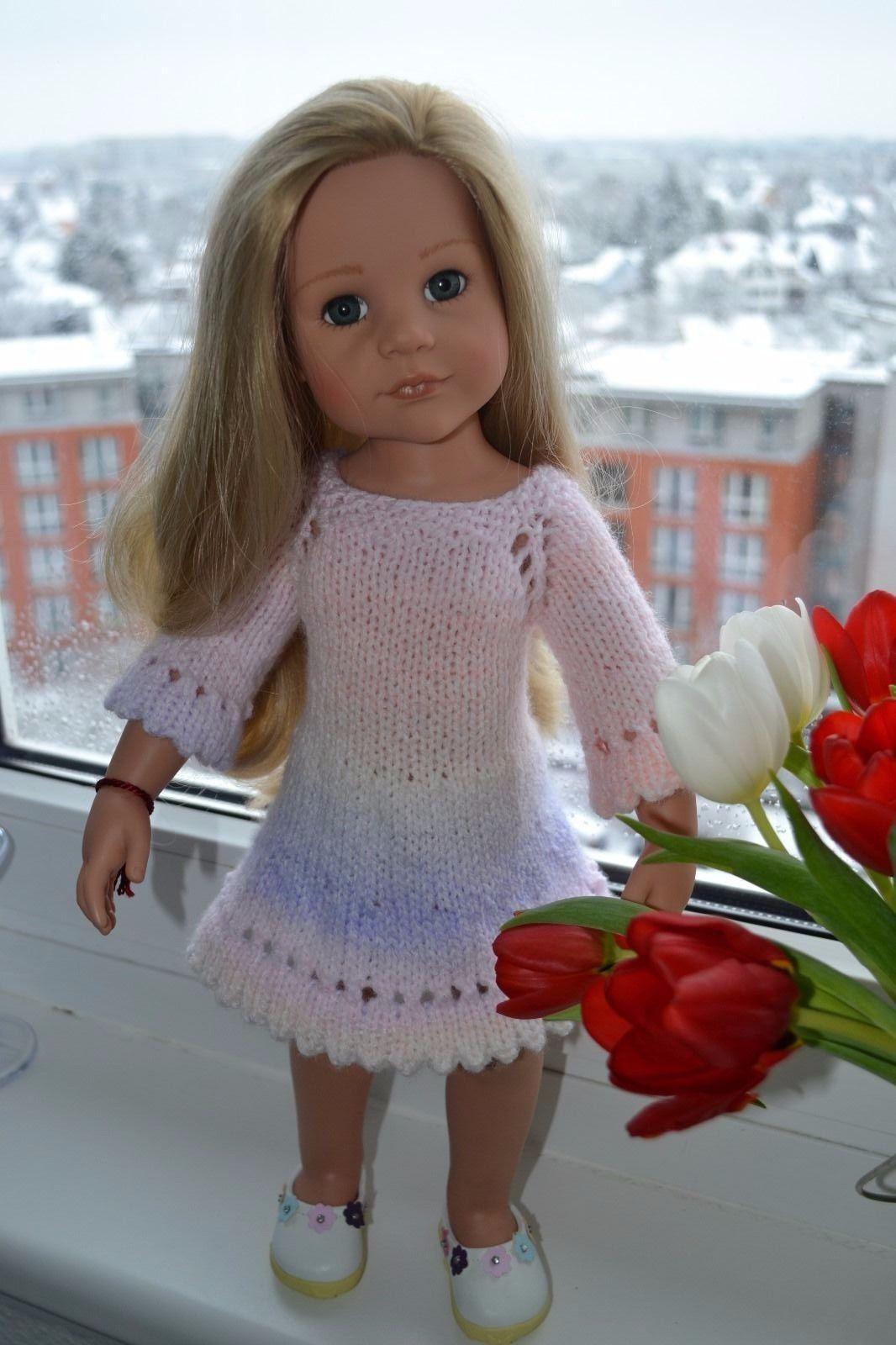 3-tlg.Puppenkleidung,Kleider Set für 45-50cm Götz Stehpuppe in ...