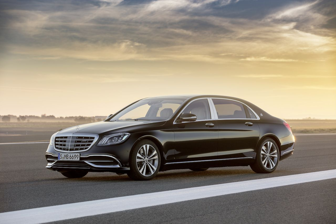 Mercedes Maybach S 650 India Launch At Auto Expo 2018 With Images