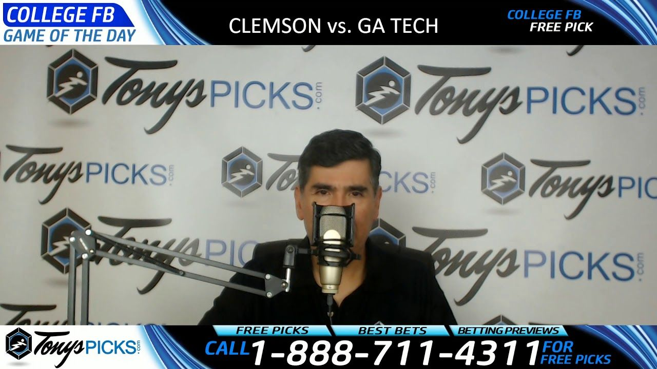 Clemson Tigers vs. Tech Yellow Jackets Free NCAA