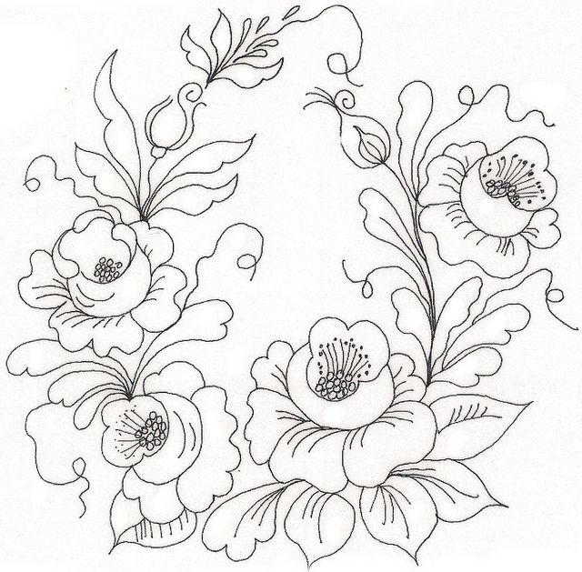 Roses Embroidery Flowers Embroidery Patterns Embroidery