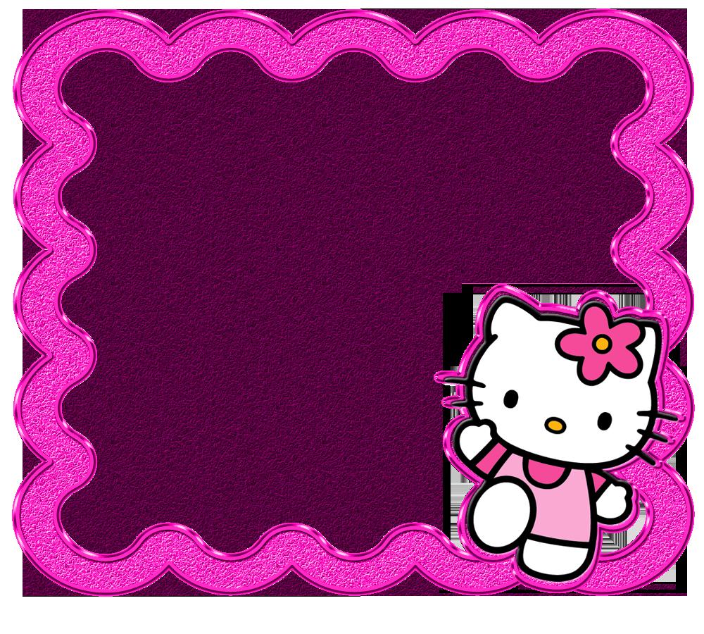 hello kitty | Delicados Marcos de Hello Kitty, todos en Png ...