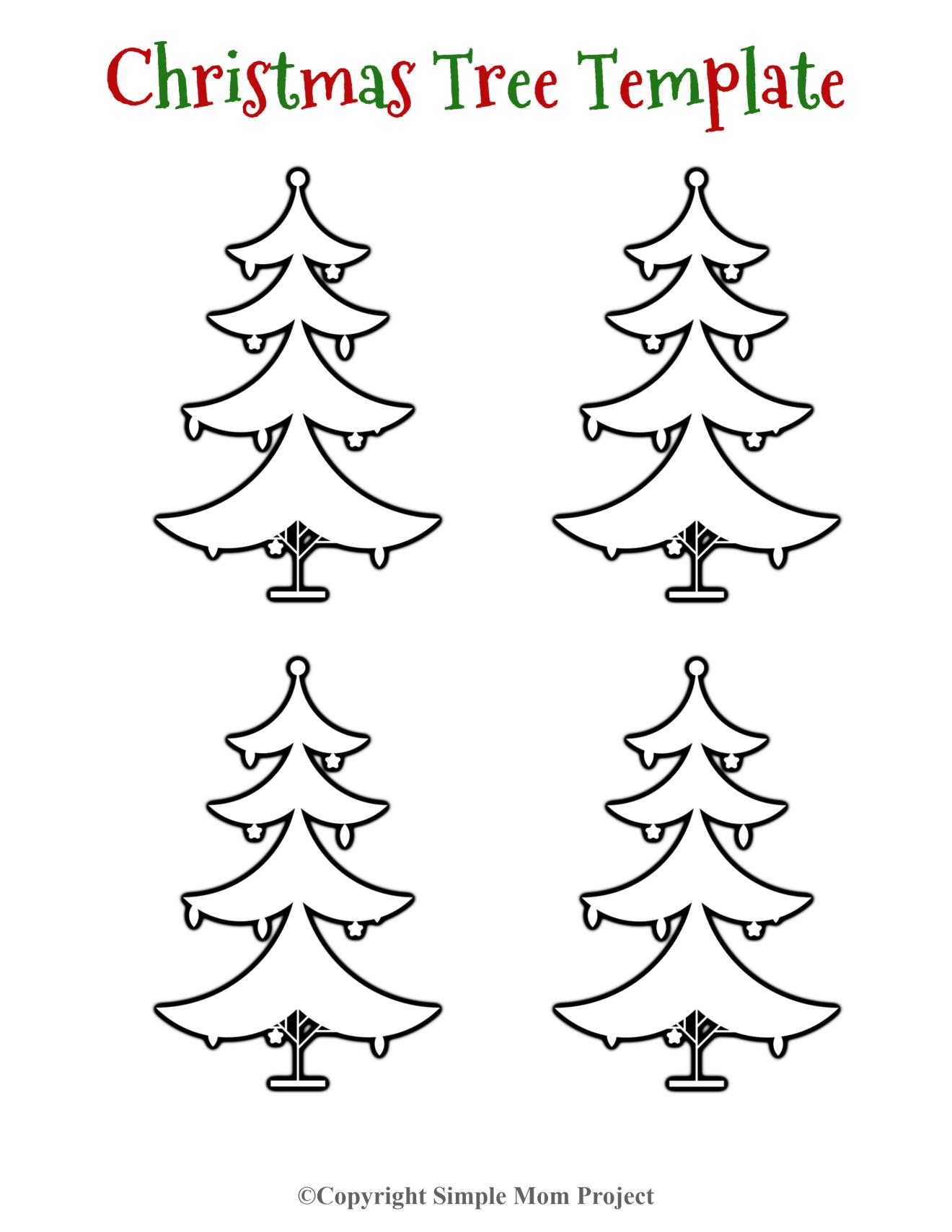 Free Printable Small Snowflake Templates Christmas Tree Template Diy Christmas Tags Diy Christmas Cards