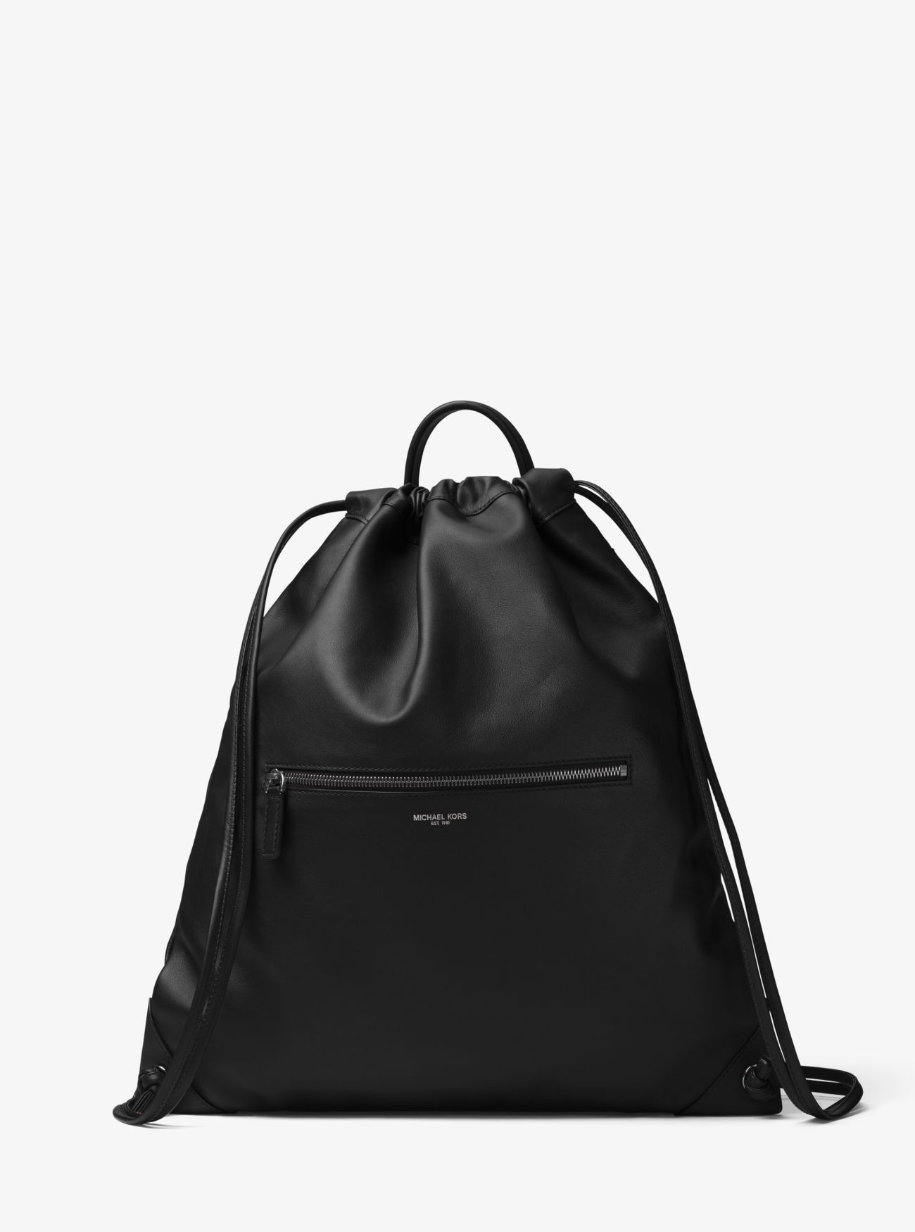 f039b4b4fac5 MICHAEL KORS Dylan Leather Drawstring Backpack. #michaelkors #bags #leather  #lining #polyester #backpacks #cotton #