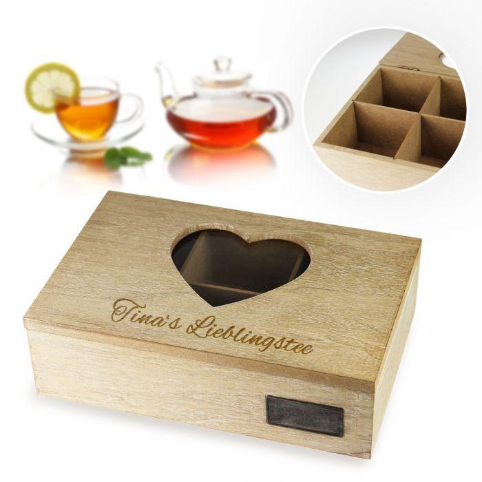 individuelle teebox mit gravur geschenke mit gravur