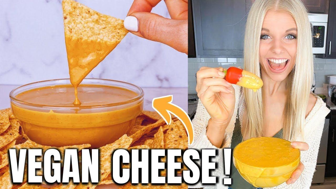 Amazing Vegan Nacho Cheese Sauce Recipe Super Simple Vegan Cheese Sauce Oil Free Nut Free Youtube In 2020 Vegan Cheese Sauce Vegan Cheese Vegan Nachos Cheese