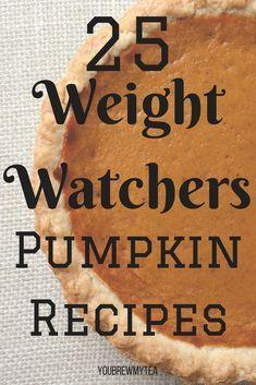 25 Weight Watchers Pumpkin Recipes - -   24 sweet pumpkin recipes ideas